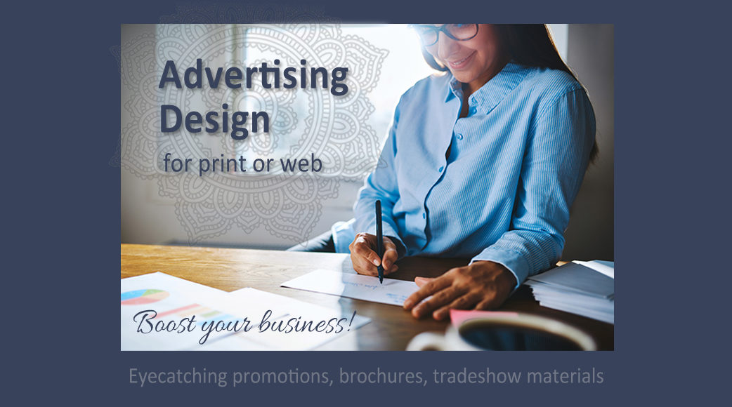 Advertising Design for print or web